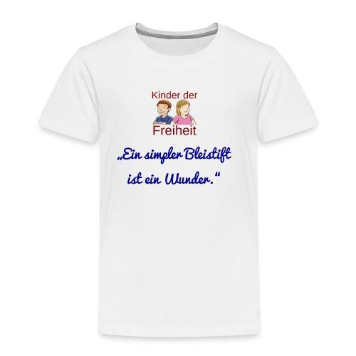 Bleistift - Kinder Premium T-Shirt