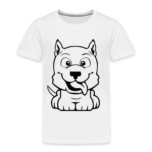 dog cartoon bully - T-shirt Premium Enfant