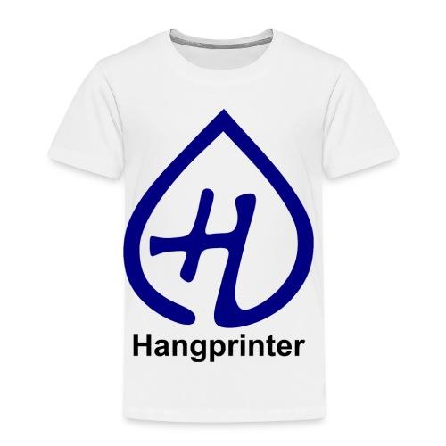 Hangprinter logo and text - Premium-T-shirt barn