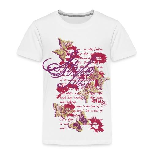 Style Butterfly - Maglietta Premium per bambini