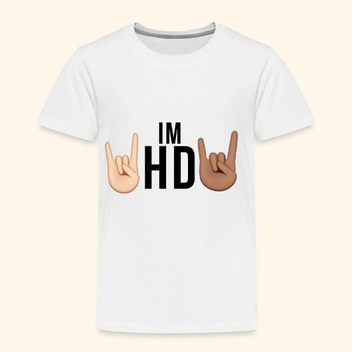 Im hd black logo - Kids' Premium T-Shirt