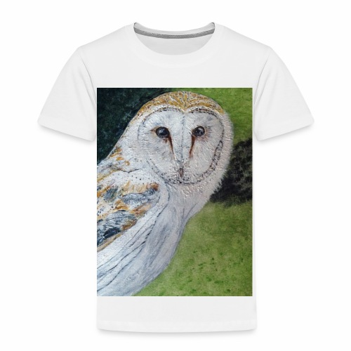 Curious Scottish owl - Kids' Premium T-Shirt