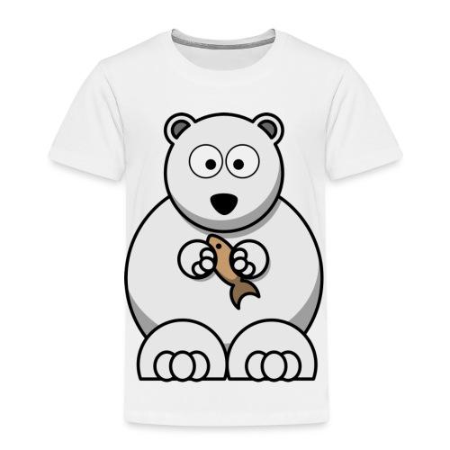 ours blanc - T-shirt Premium Enfant