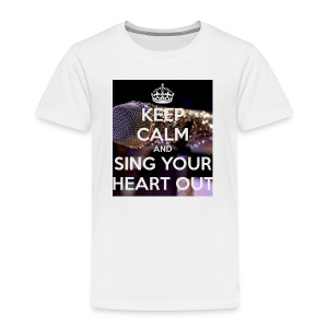Keep Calm And Sing Your Heart Out T-Shirt - Kids' Premium T-Shirt