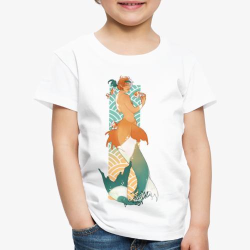 Meermin en goudvissen - RomyvdHel - Kinderen Premium T-shirt