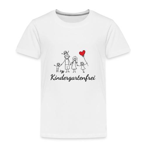 logo kindergartenfrei1 - Kinder Premium T-Shirt