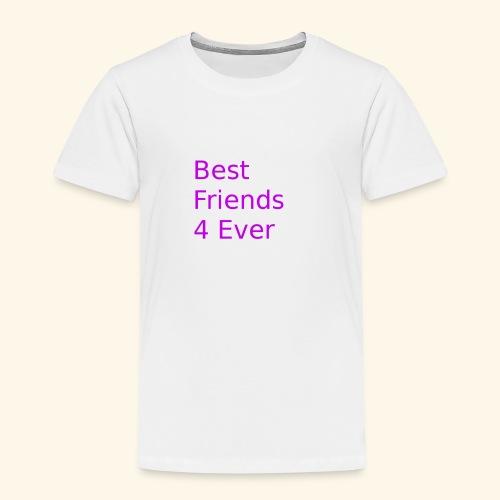 best friends for ever - Kinder Premium T-Shirt