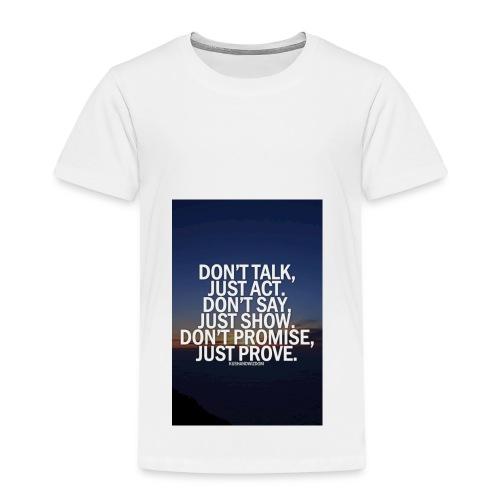 Life quote 1 - Kids' Premium T-Shirt