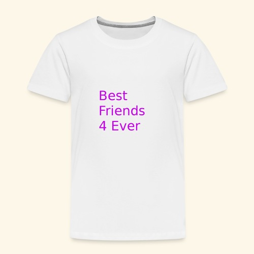 best friends for ever - Kinder Premium T-Shirt