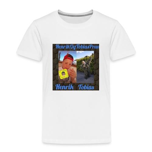 HenrikOGTobias - Premium T-skjorte for barn