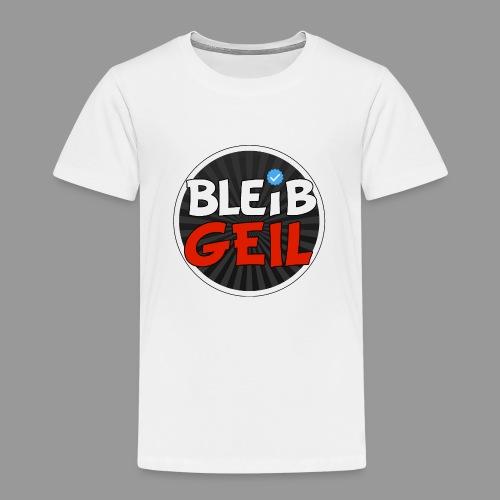 BleibGeil RotSchwarz - Kinder Premium T-Shirt