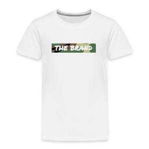 LIMITED EDITION CAMO BOX LOGO - Kids' Premium T-Shirt