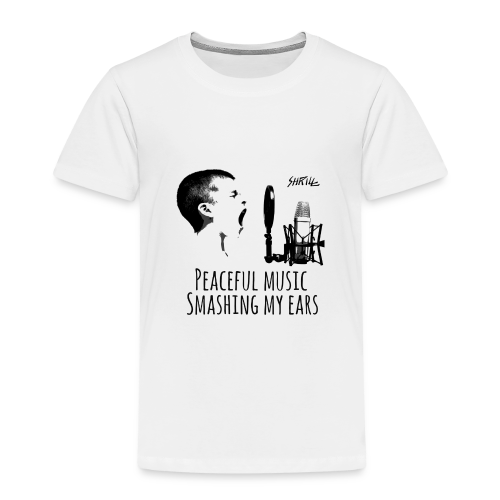 Shrill Peaceful Music Tshirt - T-shirt Premium Enfant