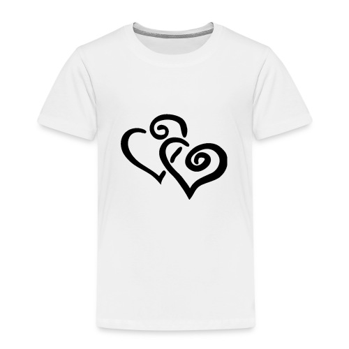 Black hearts - Kinder Premium T-Shirt