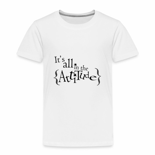 Attitude - Premium T-skjorte for barn