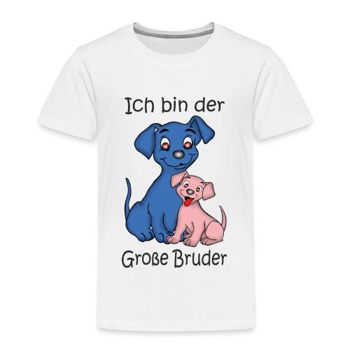 Ich Bin Der Grosse Bruder Puppy B - Kids' Premium T-Shirt