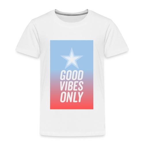 Good Vibes Nur - Kinder Premium T-Shirt