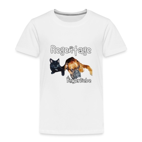 Regentage Boxerliebe - Kinder Premium T-Shirt