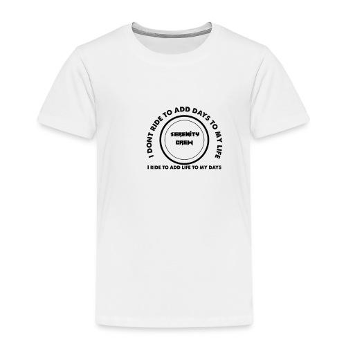 Serenity Crew Rider Quote - Kids' Premium T-Shirt