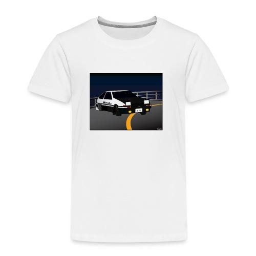 Initial D Drifting Akina - Kinderen Premium T-shirt