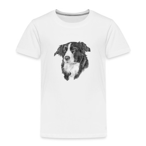 border collie S - Børne premium T-shirt