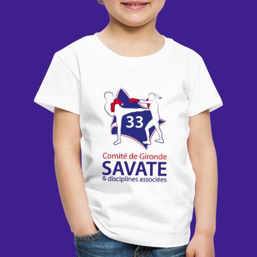 Comité Savate 33 - T-shirt Premium Enfant