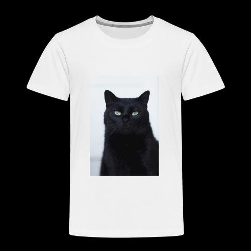 Schwarze Katze - Kinder Premium T-Shirt