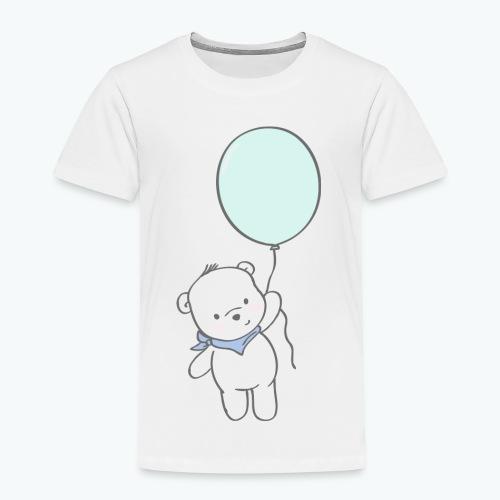 Bär mit Ballon - Kinder Premium T-Shirt