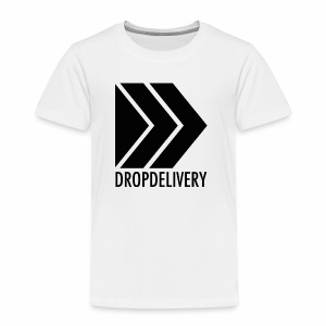 DropDelivery Main Collection - Black - Kinder Premium T-Shirt