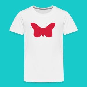 Butterfly sailing class logo - Kinder Premium T-Shirt