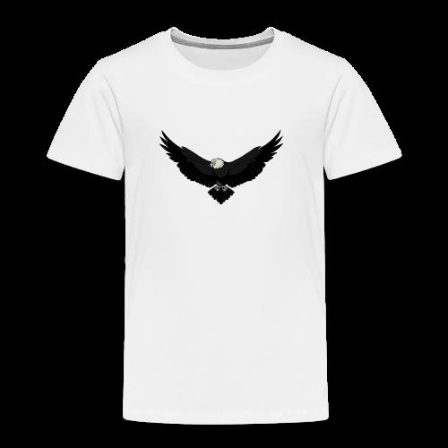White BlackEagle Edition - Kinder Premium T-Shirt