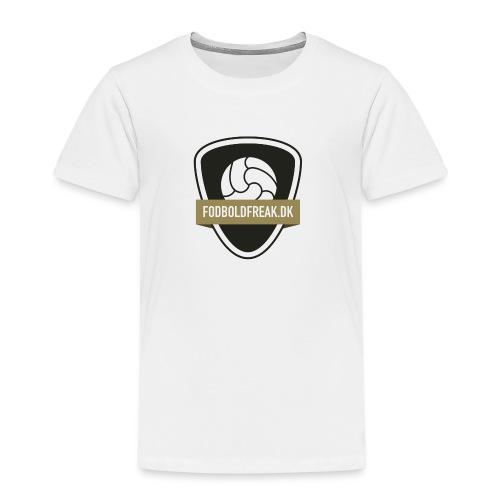 fodboldfreak logo - Børne premium T-shirt