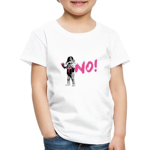 GirlPower NO! - Kinder Premium T-Shirt