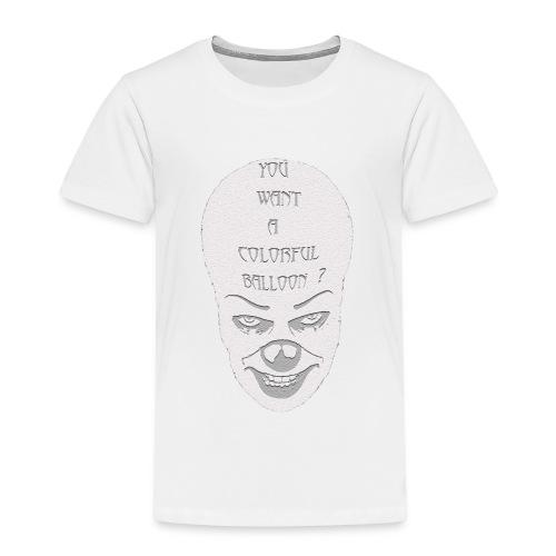 clown-1-jpg - Maglietta Premium per bambini