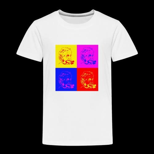 Albert Einstein x 4 - Kinder Premium T-Shirt