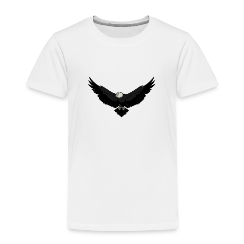 White BlackEagle Edition - Kinder Premium T-Shirt
