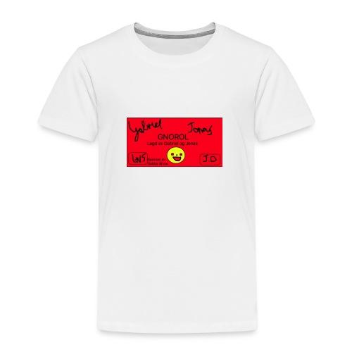 GNOROL Logo - Premium T-skjorte for barn