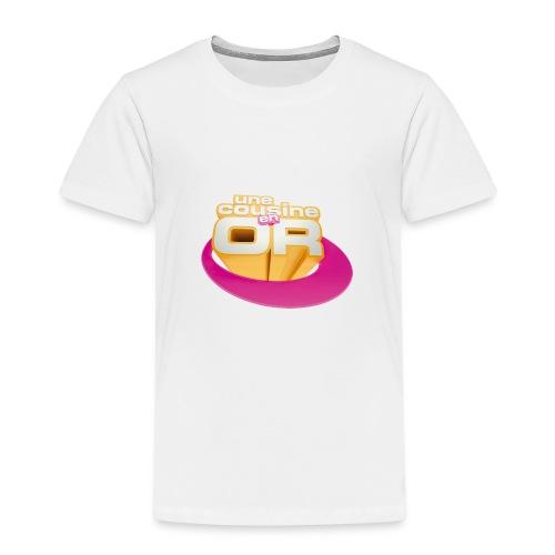 Une cousine en or © - T-shirt Premium Enfant
