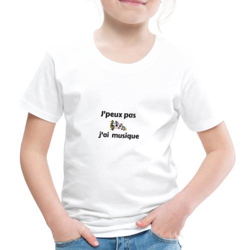 j'peux pas j'ai musique - T-shirt Premium Enfant