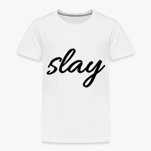 SLAY - Lasten premium t-paita