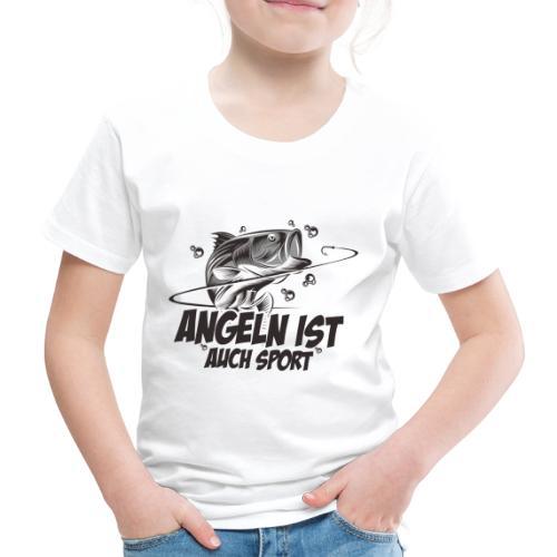 Angeln ist auch Sport - Kinder Premium T-Shirt
