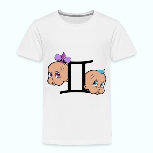 T shirt Gémeaux - T-shirt Premium Enfant