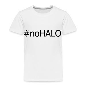 #noHALO black - Kids' Premium T-Shirt