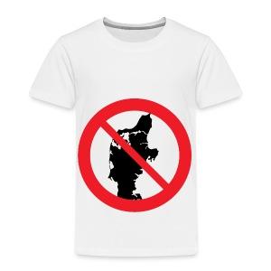 Jylland forbudt - Bestsellere - Børne premium T-shirt