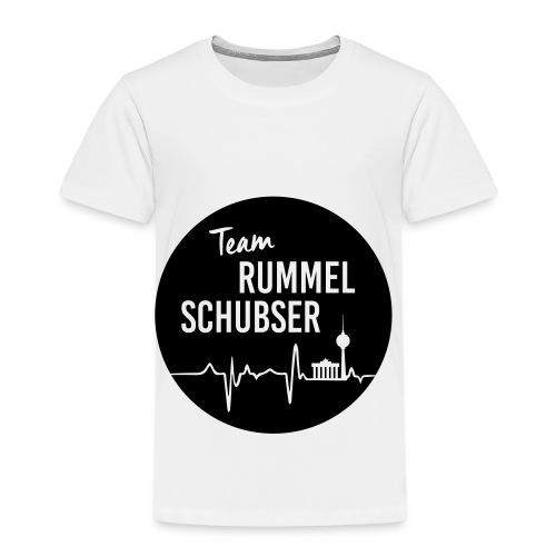 Team RS in rund und schwarz - Kinder Premium T-Shirt