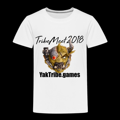 YakTribe TribeMeet 2018 Light - Kids' Premium T-Shirt