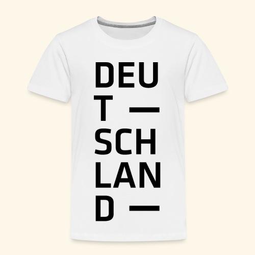 Deutschland Typo T Shirt Spruch - Kinder Premium T-Shirt