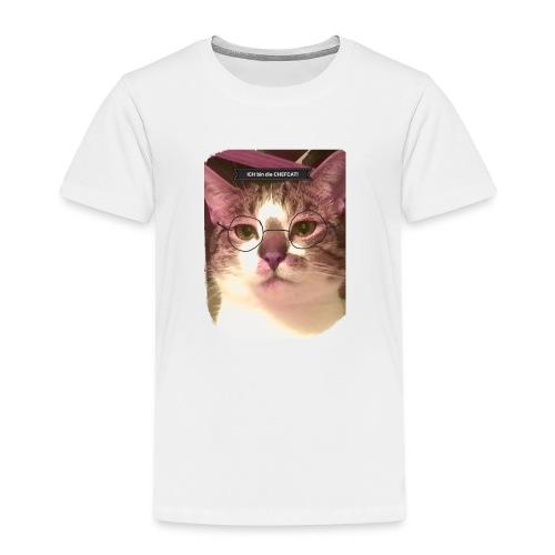 Das einzigartige The Chefcat Shirt! - Kinder Premium T-Shirt