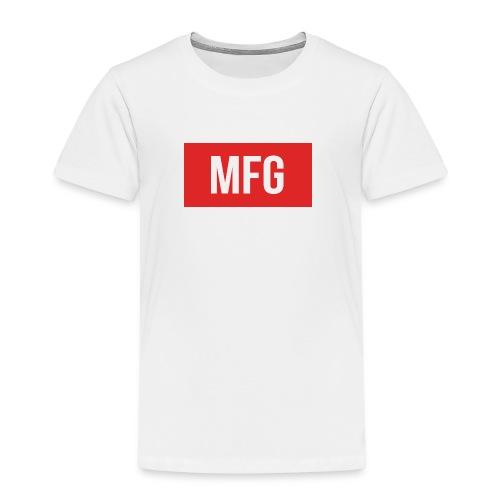 MFG on Youtube Logo - Kids' Premium T-Shirt