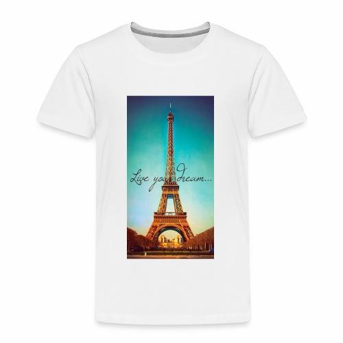 paris - Premium-T-shirt barn